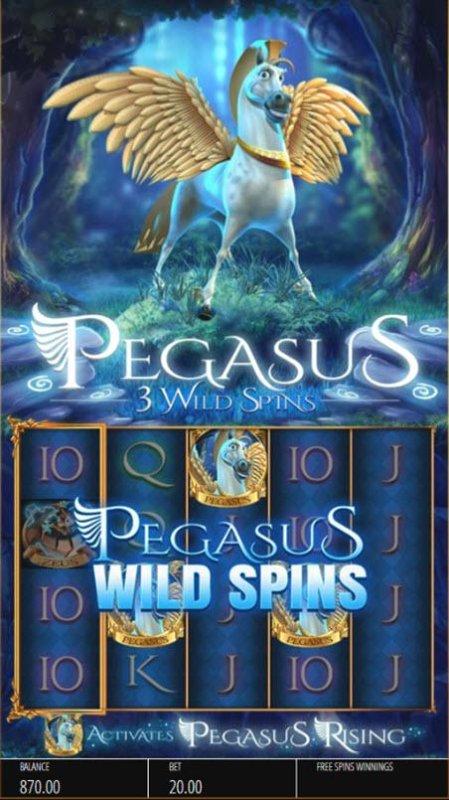 Three scatter symbols triggers Wild Spins - Free Slots 247