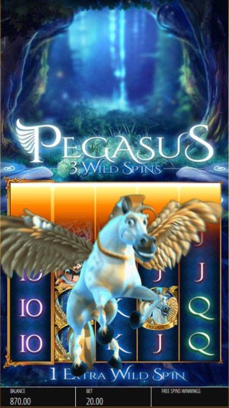 Pegasus Rising screenshot