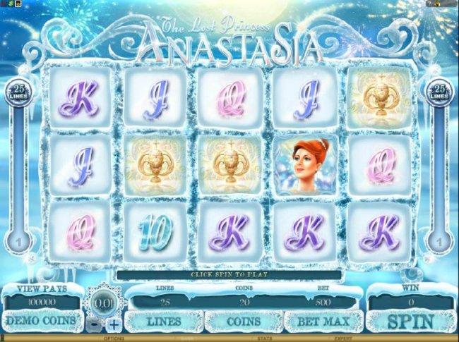 Free Slots 247 image of The Lost Princess Anastasia
