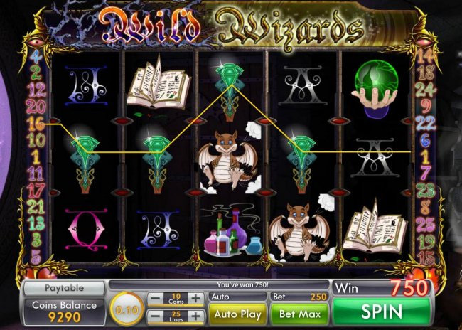 Free Slots 247 image of Wild Wizard