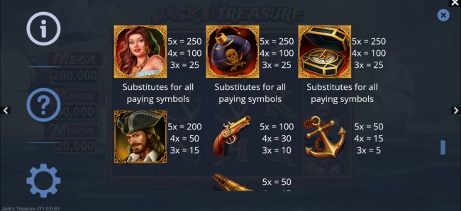 Jack's Treasure screenshot