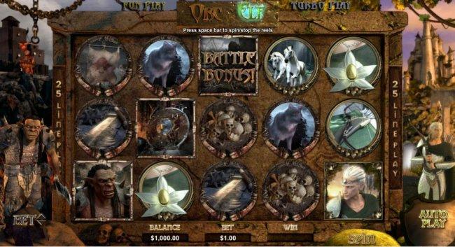 Orc vs Elf by Free Slots 247