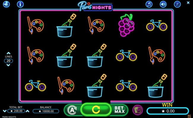 Paris Nights by Free Slots 247