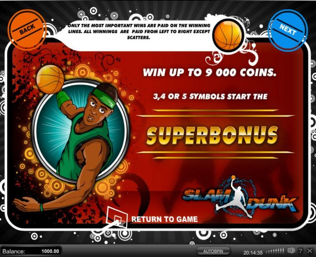 Free Slots 247 - Win up to 9,000 coins. 3, 4 or 5 symbols start the SuperBonus