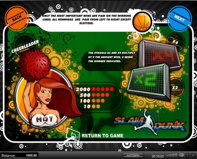 Slam Dunk screenshot