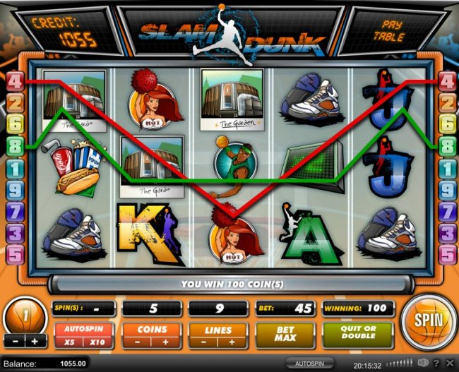 Multiple winning paylines triggers a big win! - Free Slots 247