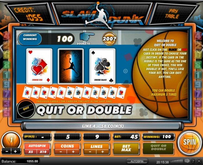 Free Slots 247 image of Slam Dunk