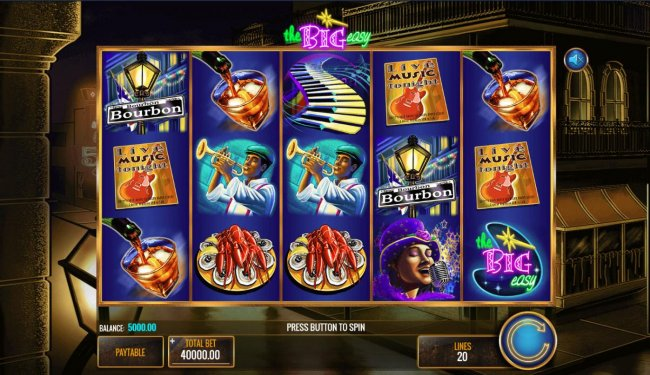 Free Slots 247 - Main game board featuring five reels and 20 paylines with a $25,000,000 max payout.