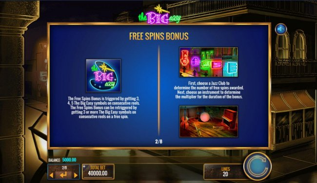 Free Slots 247 image of The Big Easy