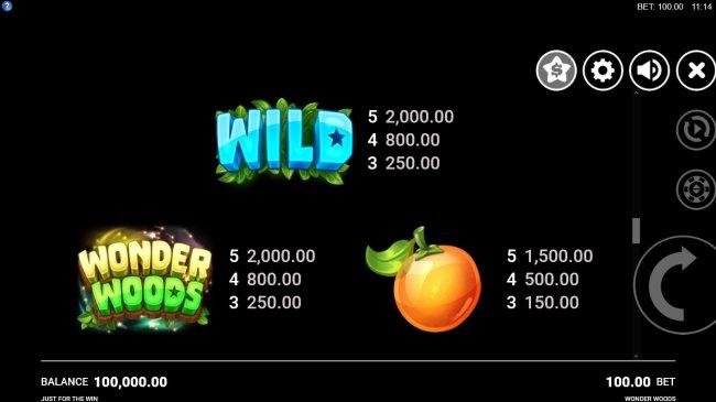 Wonder Woods by Free Slots 247