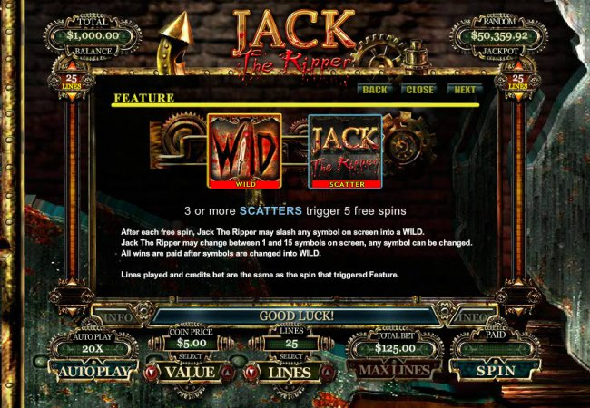 Free Slots 247 - Feature Rules