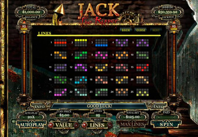 Free Slots 247 image of Jack the Ripper