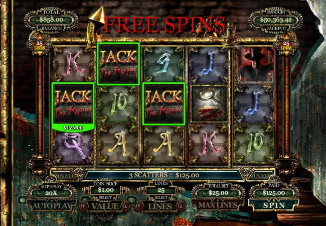 Jack the Ripper by Free Slots 247
