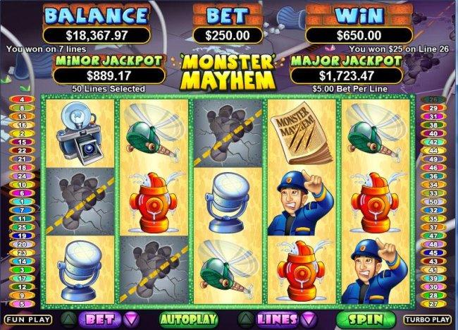 Monster Mayhem by Free Slots 247