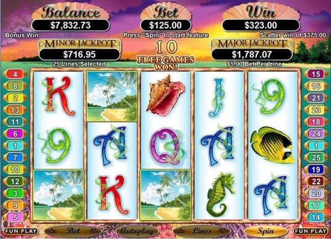Free Slots 247 image of Ocean Dreams