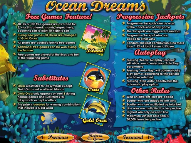 Free Slots 247 image of Ocean Dreams
