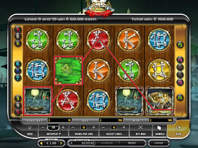 Tortuga Gold the Bay of Fortune by Free Slots 247
