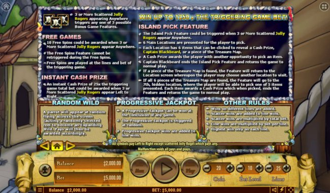 Blackbeard's Bounty screenshot