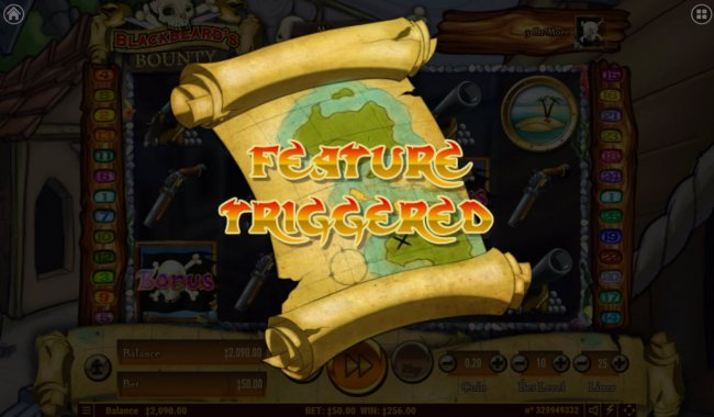 Feature triggered by Free Slots 247