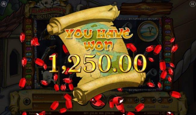 Total Bonus Payout by Free Slots 247