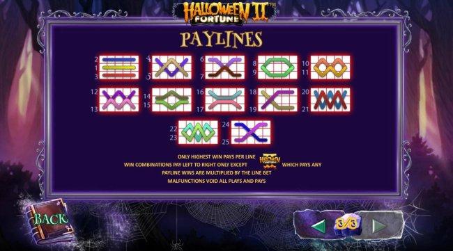 Halloween Fortune II screenshot