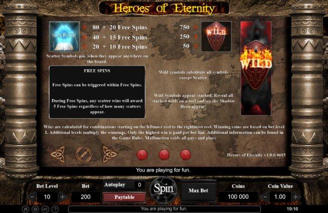 Free Slots 247 image of Heroes of Eternity