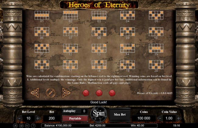 Heroes of Eternity screenshot