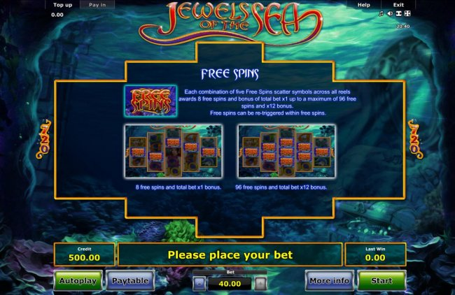 Jewels of the Sea by Free Slots 247