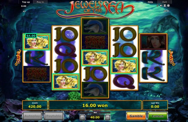 Free Slots 247 - Multiple winning combinations triggers a nice payout.