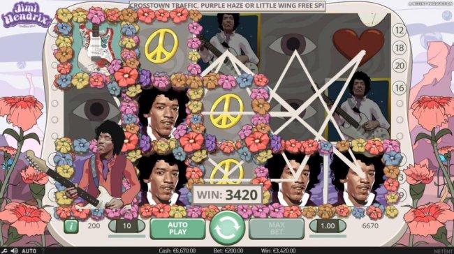 Free Slots 247 image of Jimi Hendrix