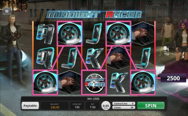 Midnight Racer by Free Slots 247