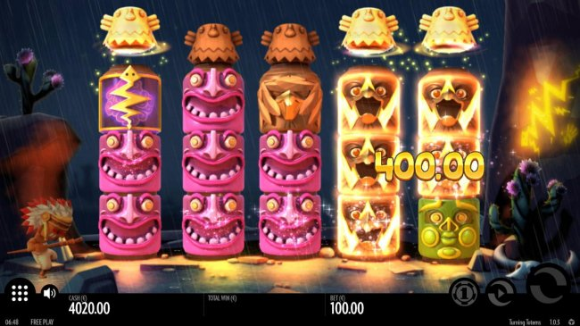 Free Slots 247 image of Turning Totems