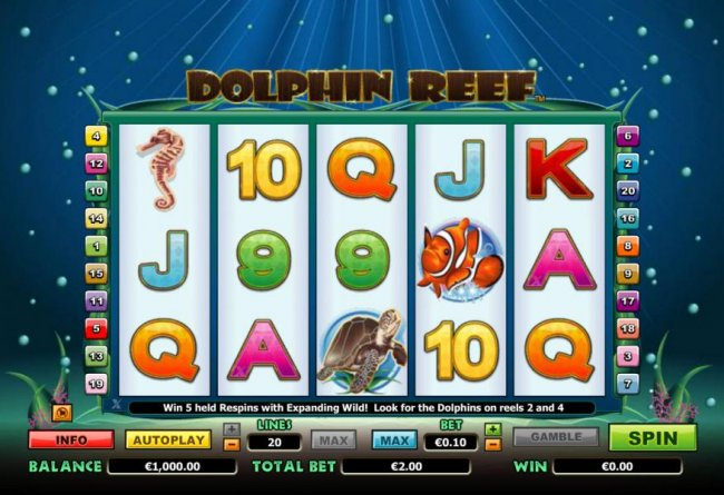 Dolphin Reef screenshot
