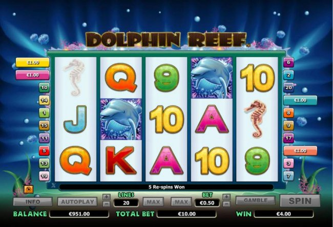 Dolphin Reef by Free Slots 247