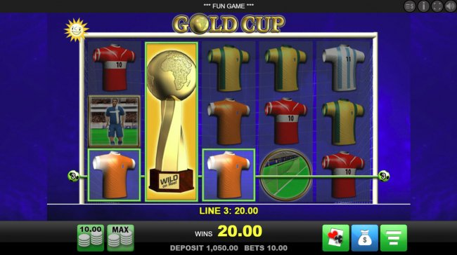 Gold Cup screenshot