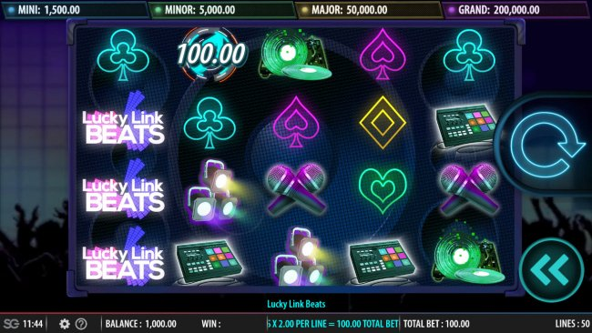 Free Slots 247 image of Lucky Link Beats