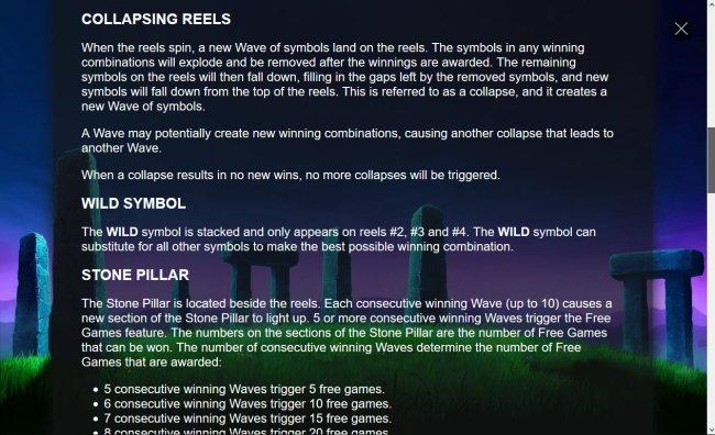 Free Slots 247 - Collapsing Reels