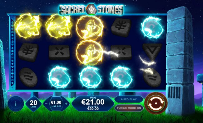 Winning combinations are removed from the reels - Free Slots 247