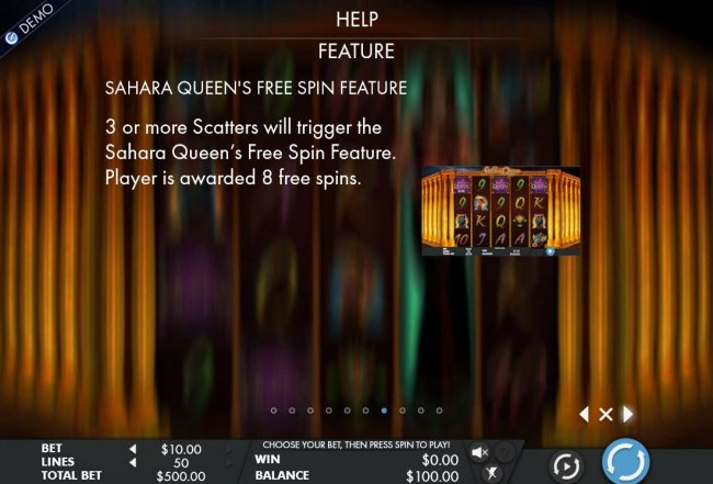 Sahara Queen by Free Slots 247