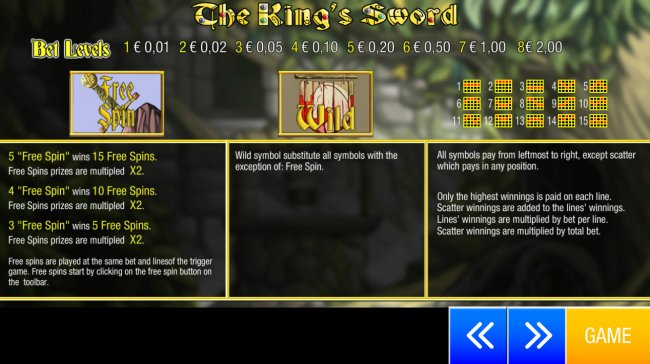 The King's Sword screenshot