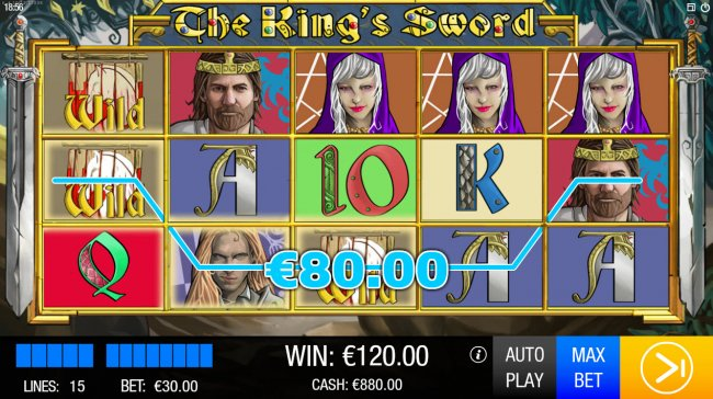 The King's Sword by Free Slots 247