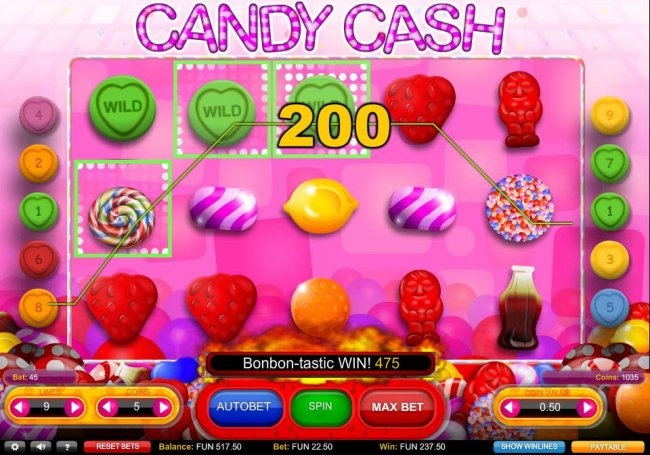 Candy Cash by Free Slots 247