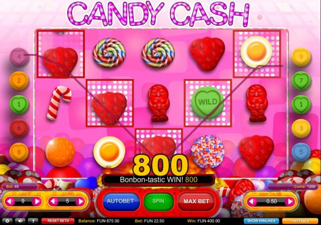 Free Slots 247 image of Candy Cash