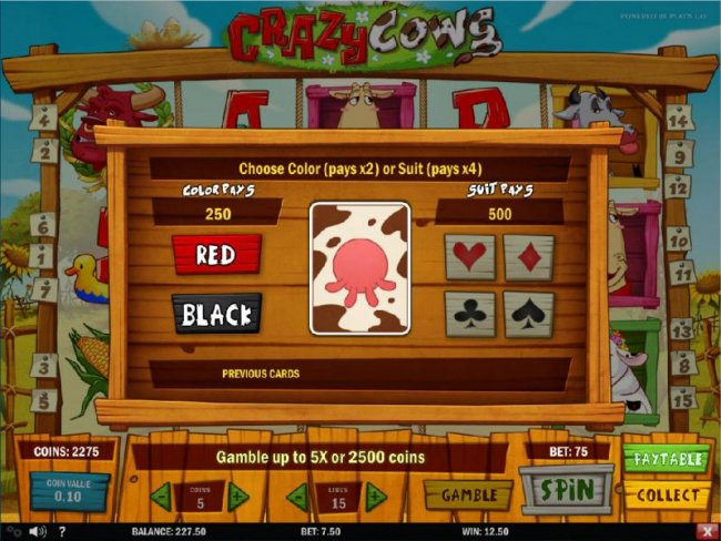 Crazy Cows by Free Slots 247