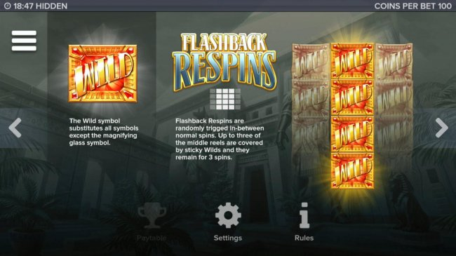 Flashback Respins Rules by Free Slots 247