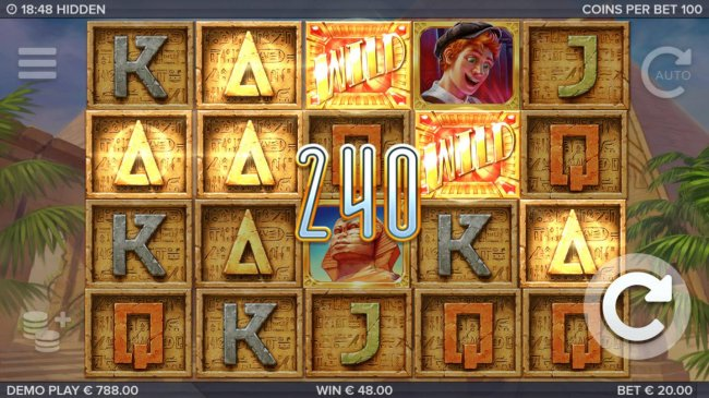Free Slots 247 - A 240 coin payout