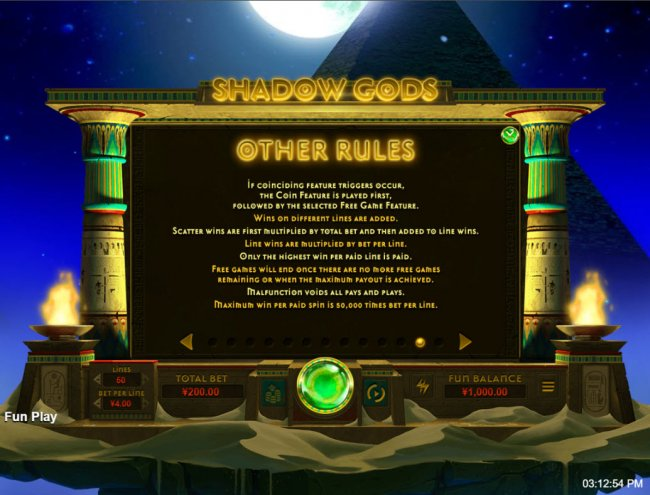 Shadow Gods by Free Slots 247