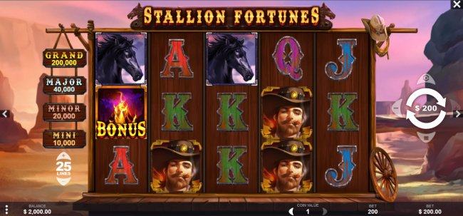 Stallion Fortunes screenshot