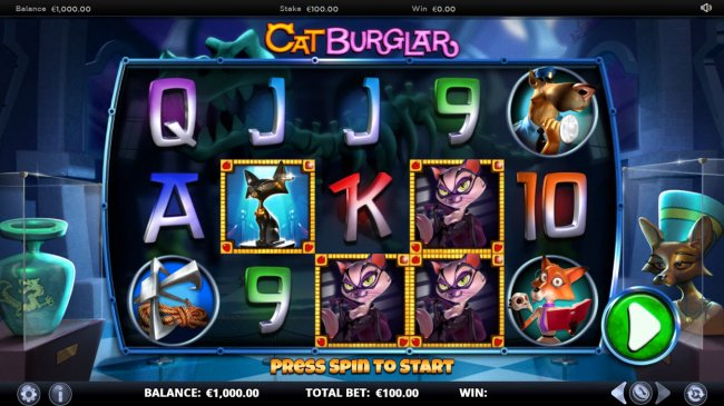 Free Slots 247 image of Cat Burglar