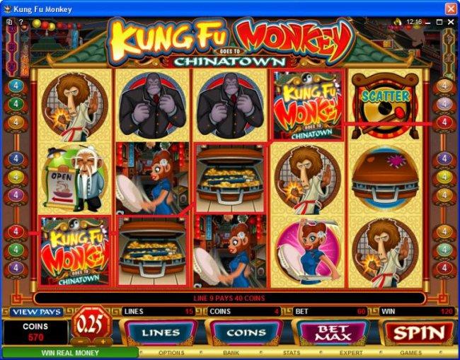 Free Slots 247 image of Kung Fu Monkey